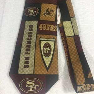 Men's NFL San Francisco 49ers Dress Tie-NWT